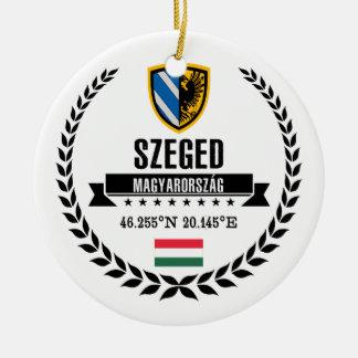Ornement Rond En Céramique Szeged