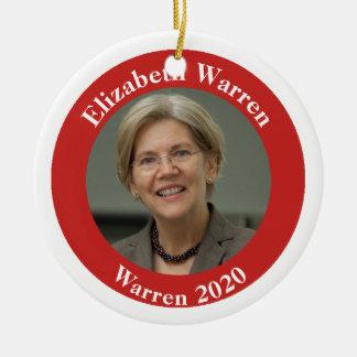 Ornement Rond En Céramique Terriers 2020 d'Elizabeth - votre des textes dos