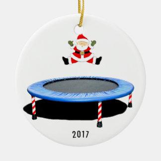 Ornement Rond En Céramique trampolining