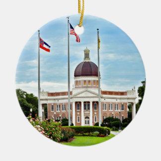 Ornement Rond En Céramique Université du Mississippi du sud