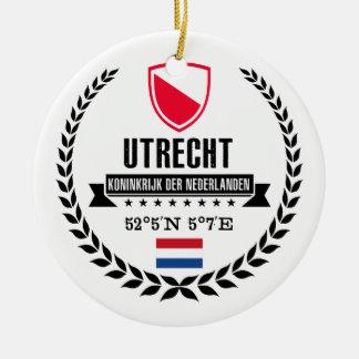 Ornement Rond En Céramique Utrecht