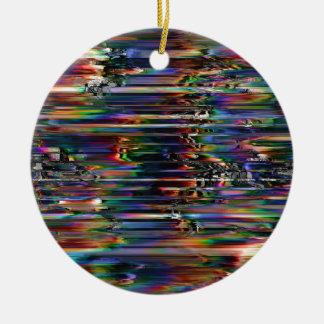 Ornement Rond En Céramique Vents spectraux