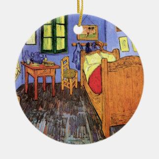 Ornement Rond En Céramique Vincent van Gogh - chambre à coucher en beaux-arts