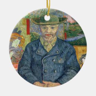 Ornement Rond En Céramique Vincent van Gogh | Pere Tanguy (père Tanguy)