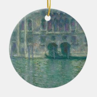 Ornement Rond En Céramique Vue panoramique de Claude Monet | de