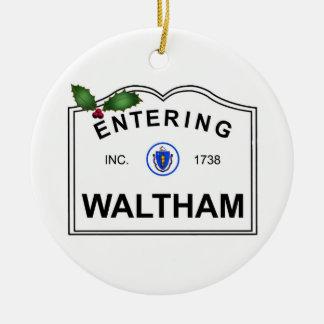 Ornement Rond En Céramique Waltham mA