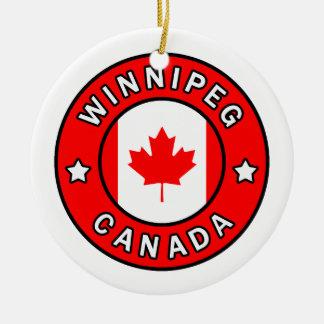 Ornement Rond En Céramique Winnipeg Canada