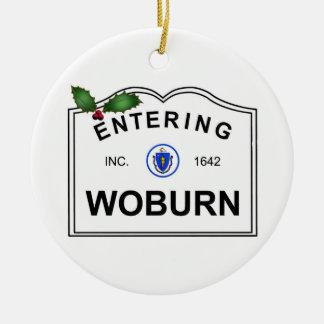 Ornement Rond En Céramique Woburn mA