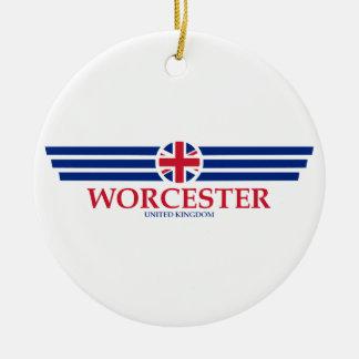 Ornement Rond En Céramique Worcester