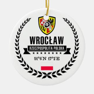 Ornement Rond En Céramique Wrocław