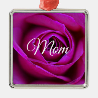 Ornement rose de maman