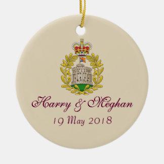 Ornement royal de Harry et de mariage 19.05.2018