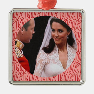Ornement royal de mariage de William et de Kate