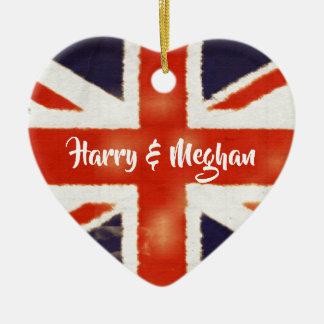 Ornement royal de souvenir de Harry et de mariage