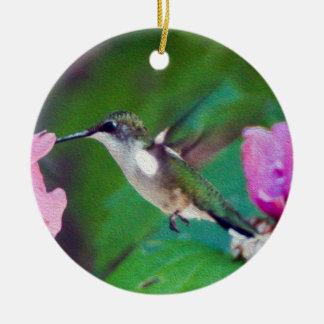 Ornement Rubis-Throated de colibri