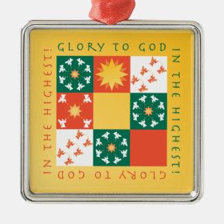 Ornement rv de Noël d'éloge de patchwork