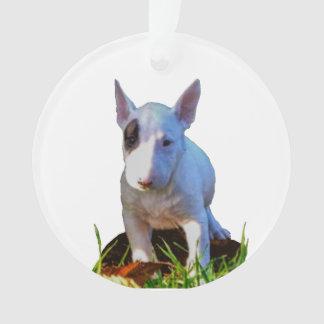 Ornement sapin Personnalisé -Design Bull Terrier