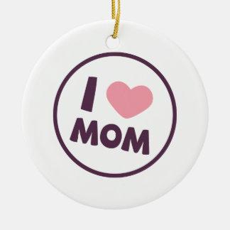 Ornement simple du jour de mère de maman d'amour