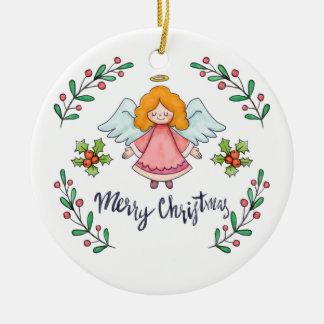 Ornement simple pourtant bel de l'ange | de Noël