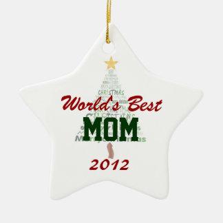 Ornement stylisé d'arbre de Noël de la meilleure