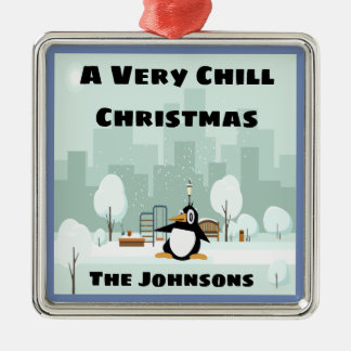 Ornement très froid de Noël