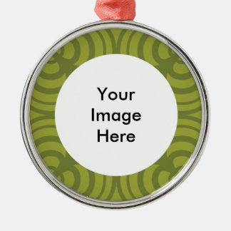 Ornement vert de cadre avec l'endroit pour la
