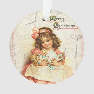 Ornement victorien vintage personnalisé de Noël