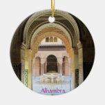 Ornementation, Cour de ce qui est De Léon, Alhambr Ornement Rond En Céramique