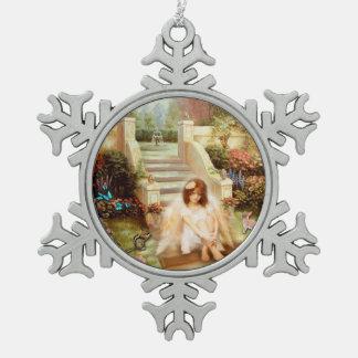 Ornements angéliques de jardin de sérénité