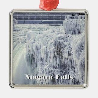 Ornements de carré de prime de chutes du Niagara