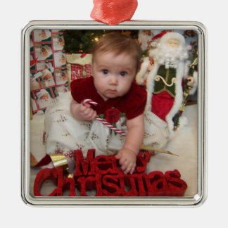 Ornements de photo de Noël de Customizeable