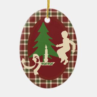 Ornements de vacances de décorations d'arbre