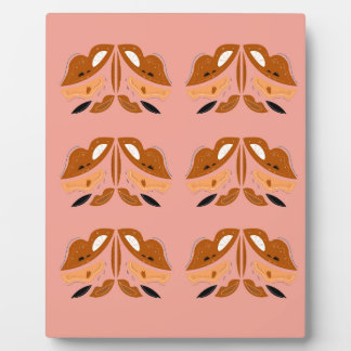 Ornements en bois légers de Brown. Illustrations Plaque Photo
