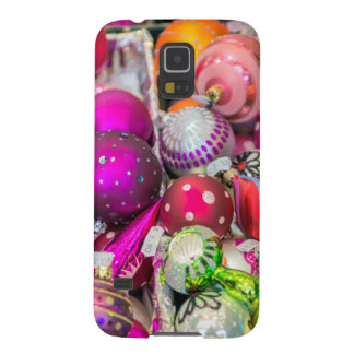 Ornements en verre traditionnels au marché de Noël Coque Galaxy S5