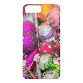 Ornements en verre traditionnels au marché de Noël Coque iPhone 7 Plus
