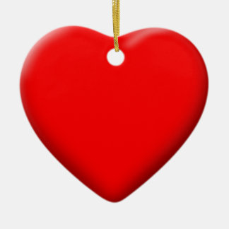 ornements rouges de coeur de l'amour 3D