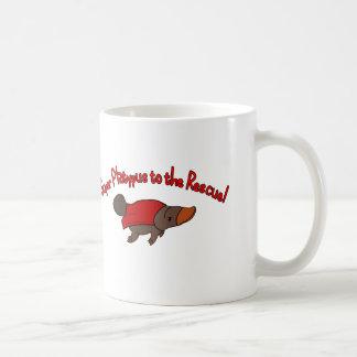 Ornithorynque superbe mug blanc