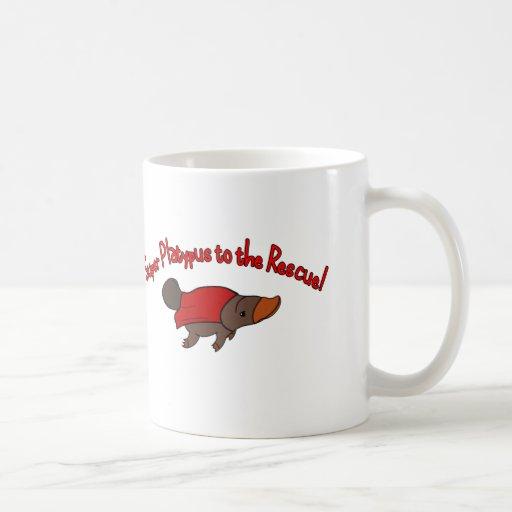 Ornithorynque superbe mug à café