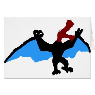ornitocheirus_ carte de vœux