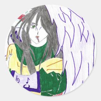 Orochimaru , le dieu serpent sticker rond