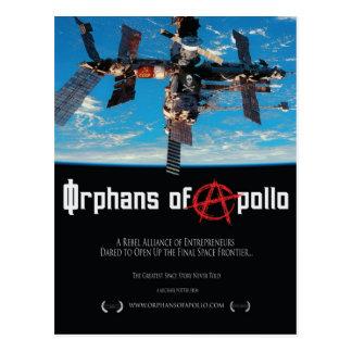 Orphelins de carte postale d'Apollo