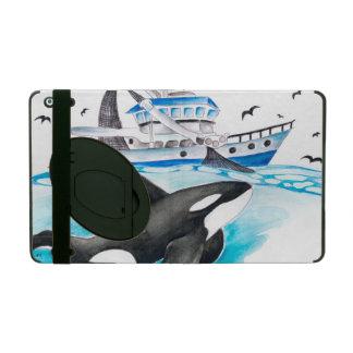 Orque et le bateau de pêche coque iPad