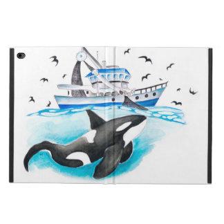 Orque et le bateau de pêche coque powis iPad air 2