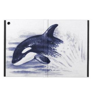 Orque ouvrant une brèche le bleu coque iPad air
