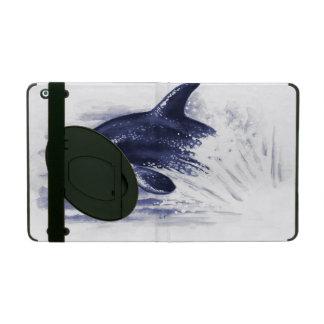 Orque ouvrant une brèche le bleu étui iPad