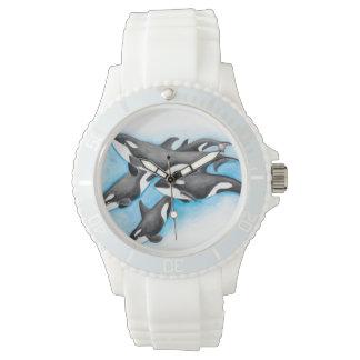 orques dans le bleu montres