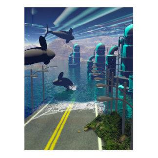 Orques de vol cartes postales