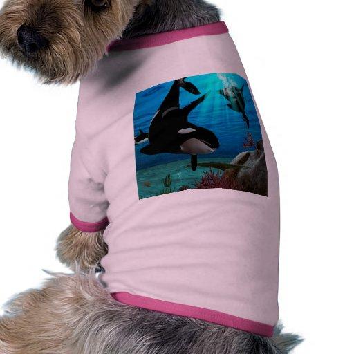 Orques drôles vêtements pour animaux domestiques