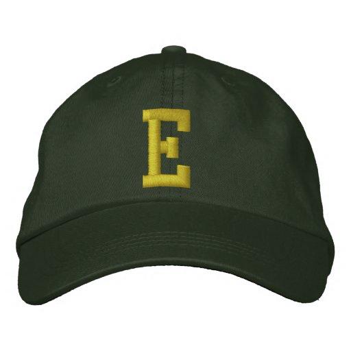 Orthographiez-le casquette de boule de la lettre casquette brodée