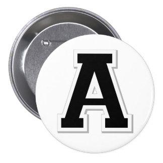 Orthographiez-le la lettre initiale A dans le bout Badges